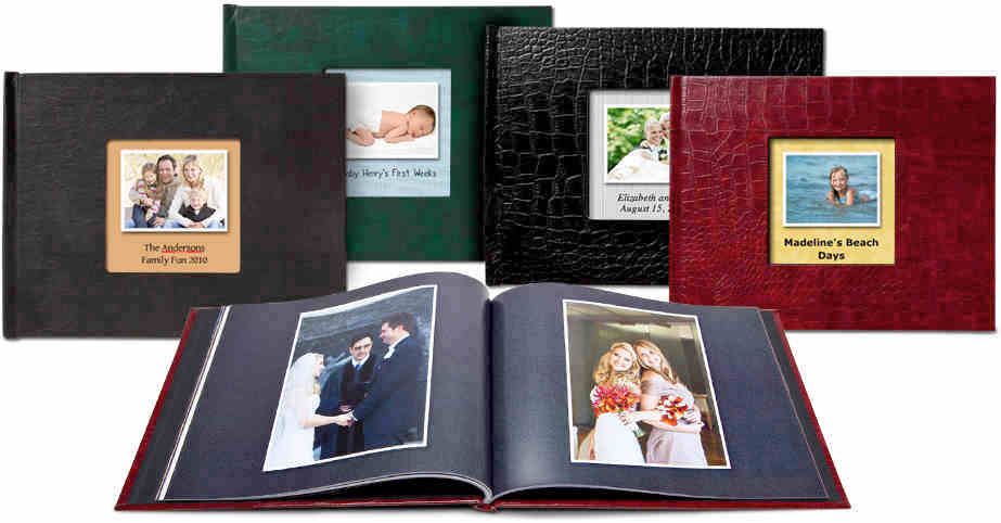 Classic Leather Photo Books