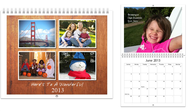 Picaboo Photo Calendars