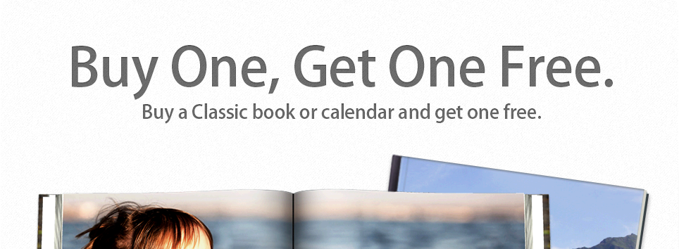 Buy one, get one free on Classic books and calendars. Sale ends 6/20.