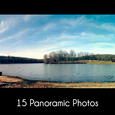 15 panoramic photos