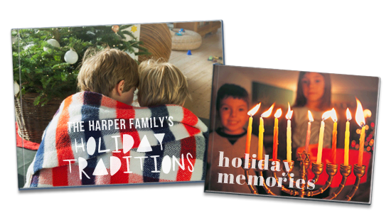 Picaboo Holiday Traditions Photo Book
