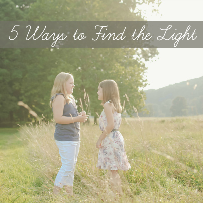 5 ways to find the light