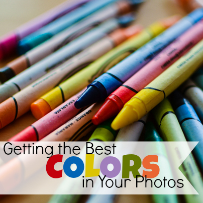how to get the best color out of your photos