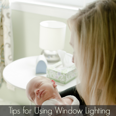 tips for using window lighting